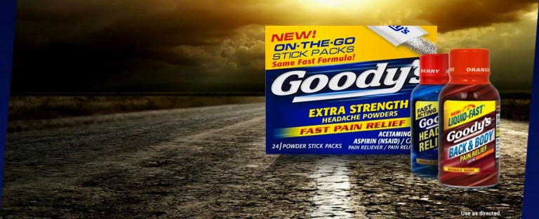 Goody's makes you unstoppable.